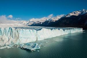 vackra landskap av Perito Moreno-glaciären, Argentina