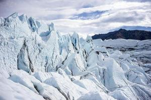 alaska glaciär - matanuska foto
