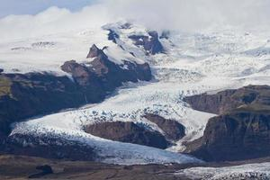 vatnajokull isländska glaciären