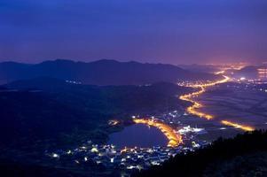 vacker by i Kina