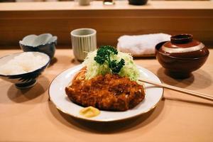 japansk katsu don