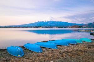 berget fuji i japan foto