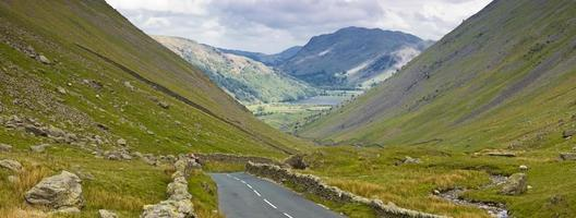 Kirkstone Pass, Lake District, Storbritannien