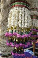ris kransar konst och dans i Thailand.