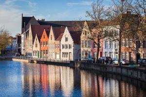 kanalen i Brygge, Belgien