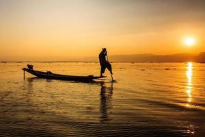 lokal fiskare foto