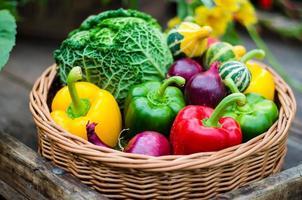 höstgrönsaker foto