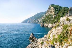 utsikt över Portovenere, Italien