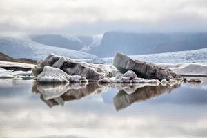 fjallsarlon glaciärlagun, island