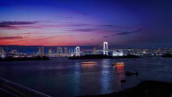regnbågsbro i japan foto