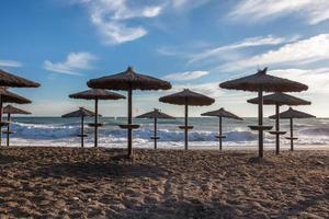 strandparasoll foto