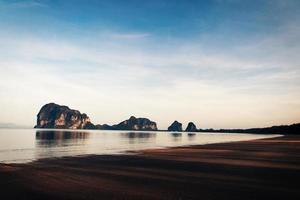 havet, stranden