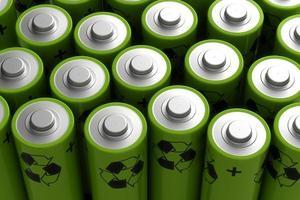 laddningsbart batteri foto
