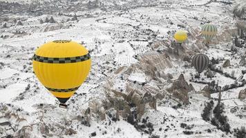 varmluftsballonger av cappadocia