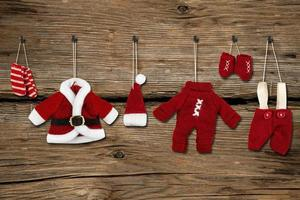 jultomten kläder foto
