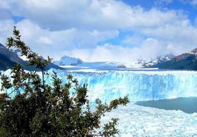 perito moreno glaciär, patagonia, argentina foto