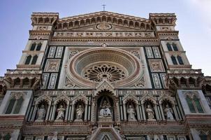 Firenze Duomo, katedralen i Florens Italien foto