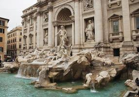 trevi fontän i Rom, Italien