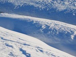 snö. bakgrund