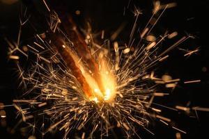 bengal eld närbild foto