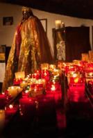 votive candle saintes maries de la mer foto