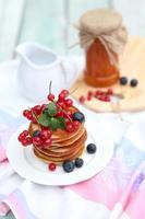 pannkakor till frukost foto