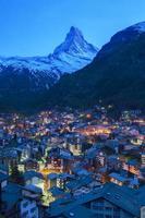 Zermatt, Schweiz foto