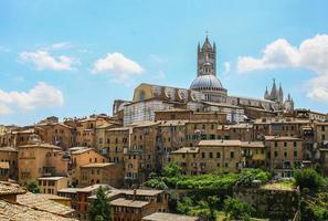 gamla Sienna Italien