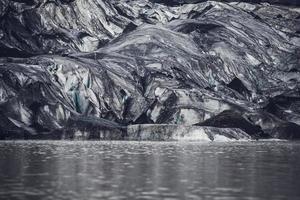 glaciären på Island