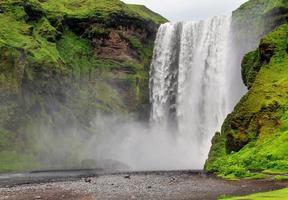 skogarfoss vattenfall