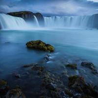 godfoss vattenfall foto