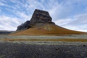 Island, vackert arktiskt landskap, av naturen