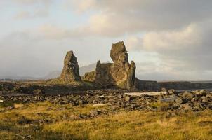 landskap på snaefellsness halvön, Island