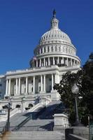 Capitol Hill-byggnad i USA foto
