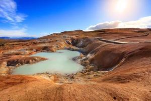 krafla vulkaniskt fält