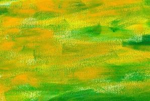 grön och gul målning