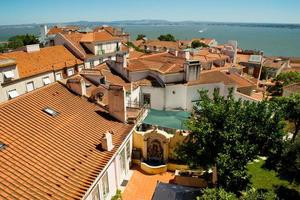 stadsbild i Lissabon, Portugal