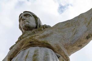cristo rei-monumentet över Jesus Kristus i Lissabon foto