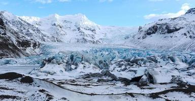 fjallsarlon glaciär