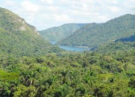 runt Vinales Valley på Kuba foto