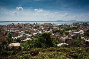 Kuba traditionell kolonial by Gibara i provinsen Holguin
