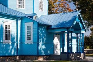 trä ortodoxa kyrkan i Narew, Polen