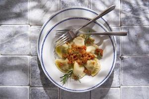 tortelli toskansk köttsås