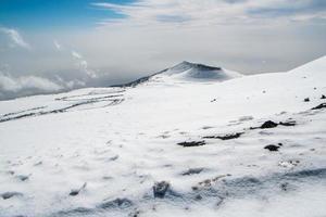 etna krater foto