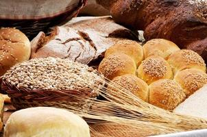 spik och bröd foto