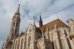 matthias kyrka, Budapest, Ungern foto