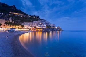 utsikt över vackra amalfi