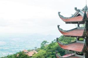 traditionellt pagodtempel