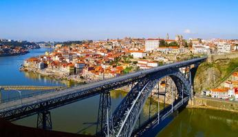 panorama av porto, portugal