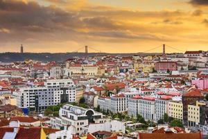 Lissabon skyline foto